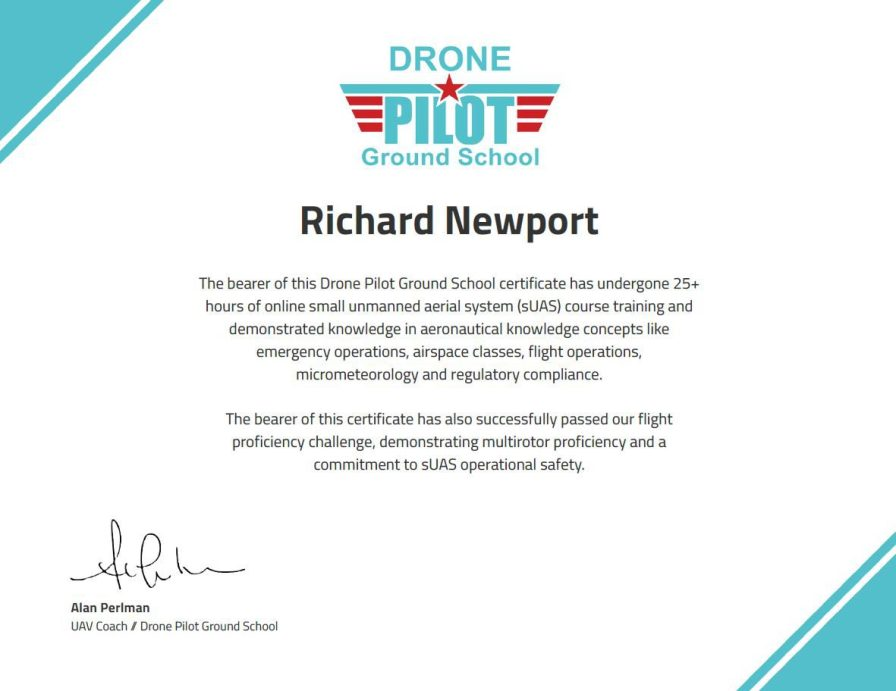 Professionally Trained Remote Pilot